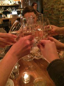 Cheers! It's Ladies' night!