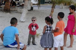 """I loved the """"conversations"""" my son was having with these local kids in Mexico despite his only spanish word being """"Hola""""."""