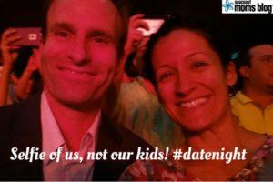 Selfie of us, not our kids! #datenight