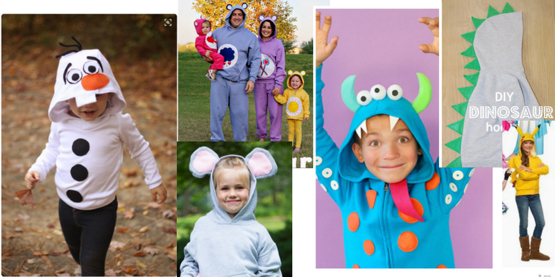 Halloween costumes from hoodies are a adorable, warm, and convenient.
