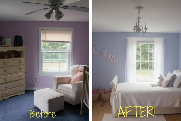 From dreary to dreamy thanks to ELH Interiors!