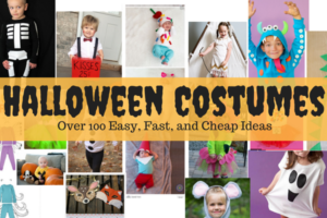 Halloween costumes: over 100 easy fast and cheap ideas