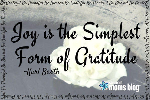 A practice of gratitude can be simple and uplifting