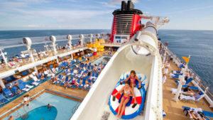 AquakDuck water slide on Disney Cruise