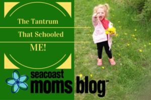 The tantrum that schooled me.