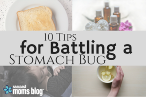 10 practical tips for a stomach bug