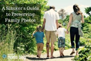 A Slacker's Guide to Preserving Family Photos