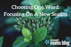 Choosing One Word-Focusing On A New Season