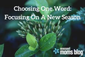 Choosing One Word-Focusing On A New Season