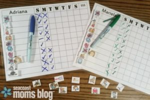 Good Behavior and Chore Charts - a Gamechanger