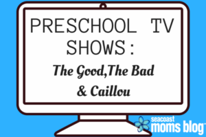 Preschool TV Shows: The Good, the bad and Caillou