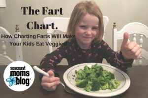 The Fart Chart: How Charting Farts will Make your Kids Eat Veggies