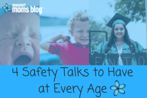Its never too early to start talking to your child about their safety