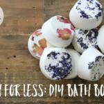 Lush For Less: DIY Bath Bombs