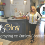Let's Glow – Spraying on Sunless Confidence