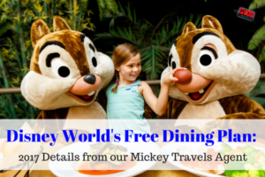 Disney World's Free Dining Plan