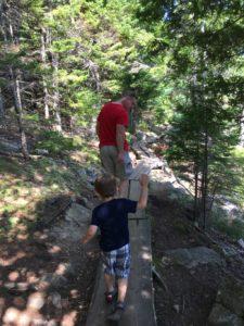 Hiking Jordan Pond