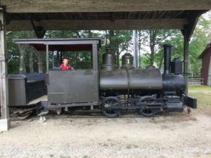 Side trip on the way home: visiting the Boothbay Railway Village