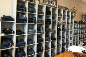 Denim Wall