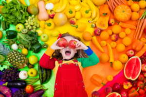 Encourage Children to eat more vegetables