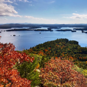 Fall foliage view from West Rattlesnake.