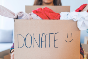 make your donation matter in youyr community by donating to a local thrift charity