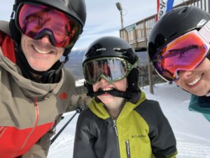 Skiing as a Family