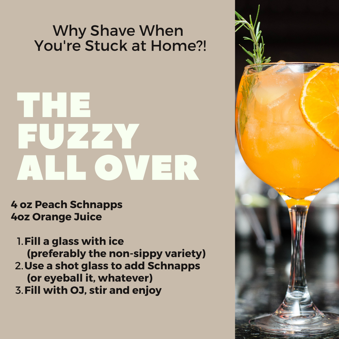 a drink that pokes fun at quarantine COVID-19 Inspired Drink Recipes