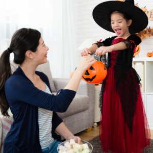 Trick or Treat in the house