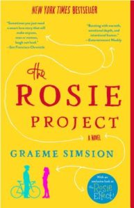 Reading during quarantine - the rosie project