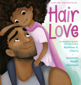 picture books from Black authors - Hair Love