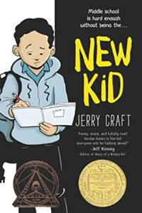 Diverse Children's Books - New Kid by Jerry Craft