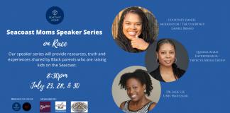 Seacoast Moms Speaker Series on Race