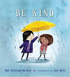 Be Kind Book Cover - Children's Books about kindness