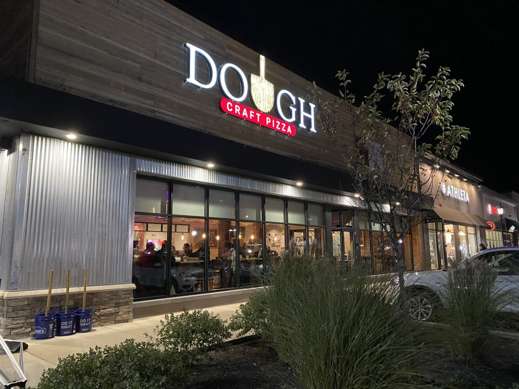 Exterior of Dough Craft Pizza in Portsmouth