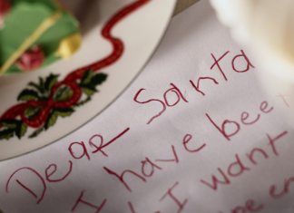 Naughty or nice a letter to santa is a christmas must do