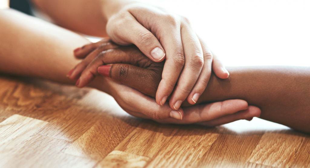 2 pairs of hands - Tips for Supporting Someone With Anxiety