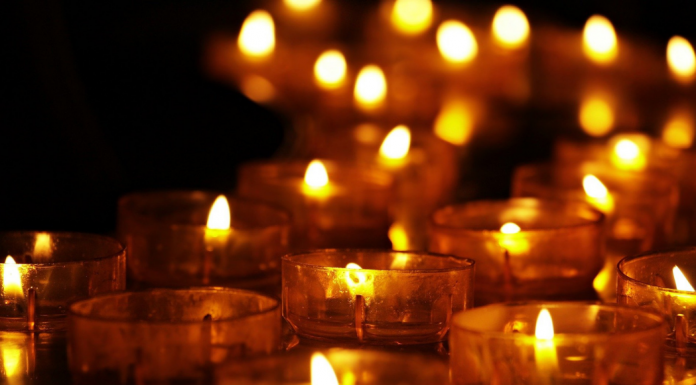 Memorial Candles and gift ideas for someone who is grieving or lost a loved one.