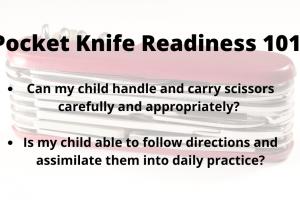 Pocket Knife Readiness 101