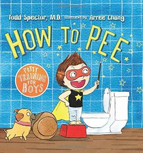how to pee book cover with little boy
