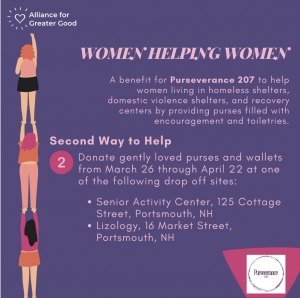 Spring cleaning, Donate gently loved purses and wallets to Purseverance 207