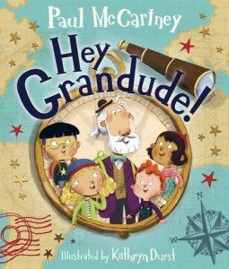 Hey Grandude cover art - Grandparents Day 2021