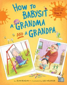 how to babysit a grandma and grandpa cover art - picture books for grandparents day